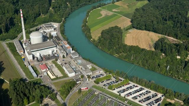 Auch das ein altes Semester unter den Atomkraftwerken weltweit: Mühleberg.