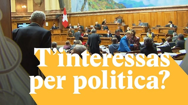 Laschar ir video «T'interessas per politica?»