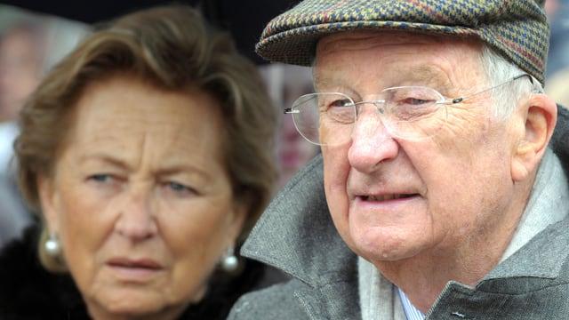 Königin Paola und König Albert II.