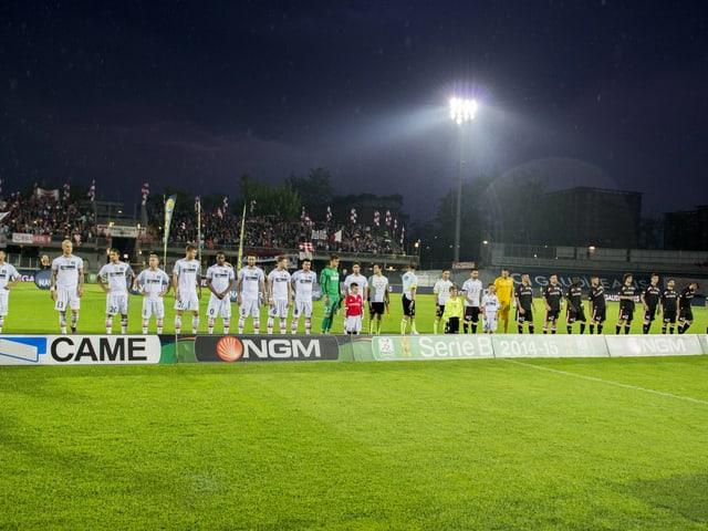 Das Stadion von Carpi