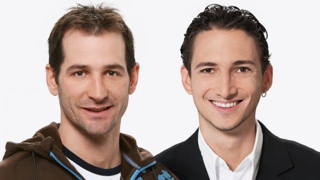 Adriano Iseppi (links) und Patrick Schmid