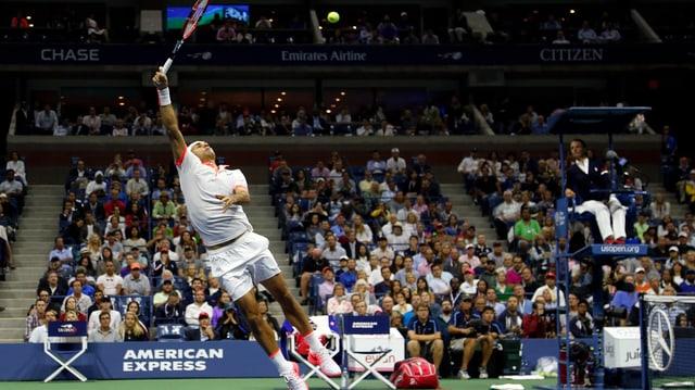 Roger Federer verliert den US-Open-Final.