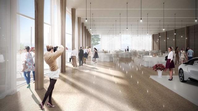 Visualisierung Trinkhalle Weissenstein