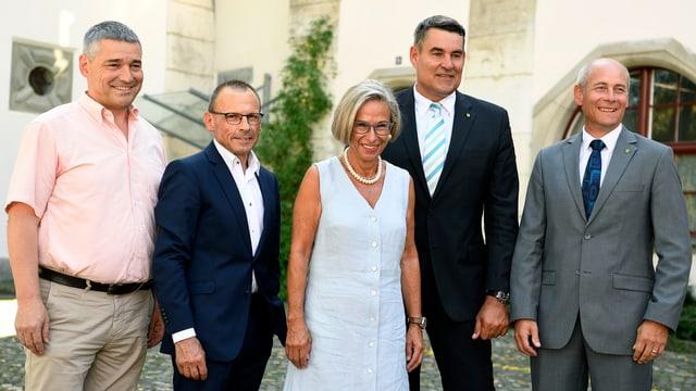 Foto des aktuellen Schaffhauser Regierungsrats