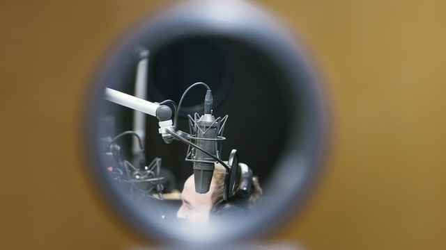 Vista en in studio.