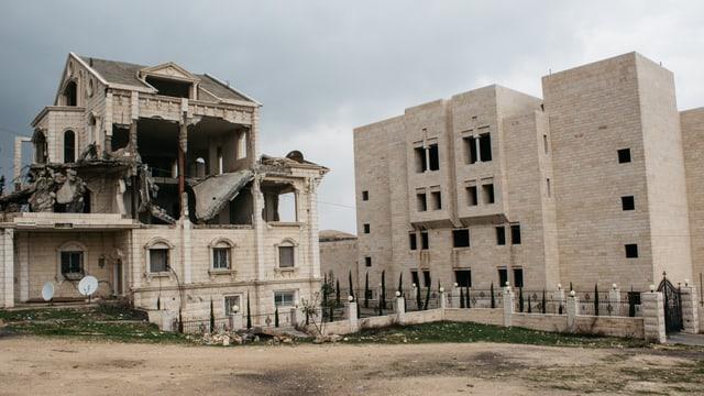 Zerstörtes Haus in Abu Dis