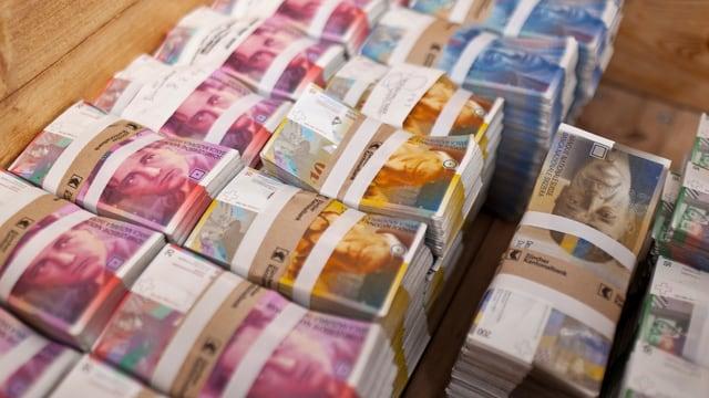 Bündel von Banknoten
