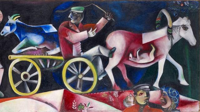 «Der Viehhändler» (1912).