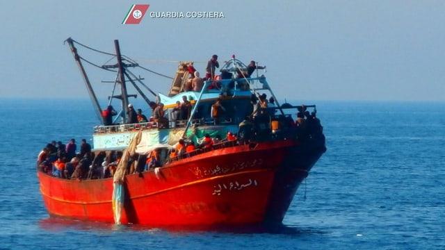 bartga cun fugitivs sin la mar