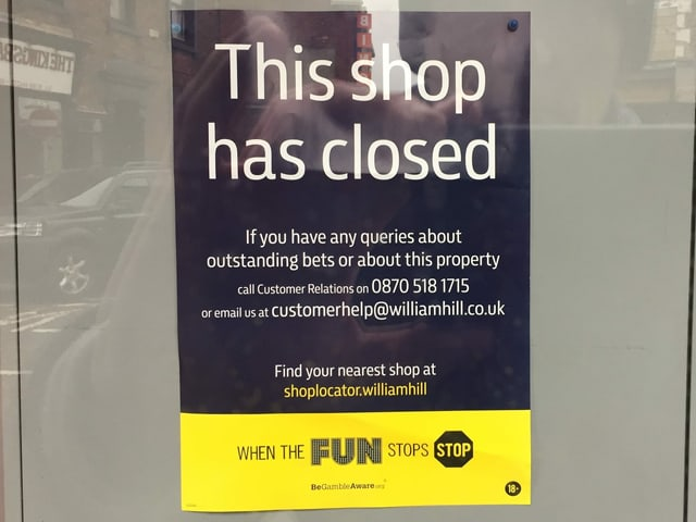 This shop has closed.