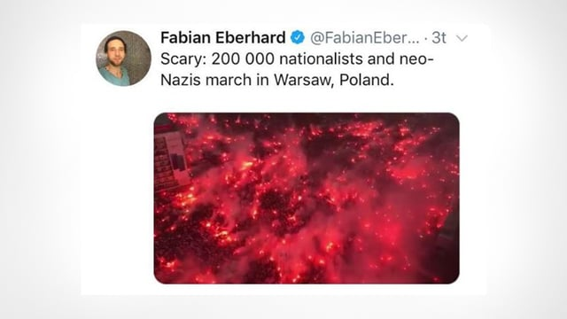Eberhards Tweet