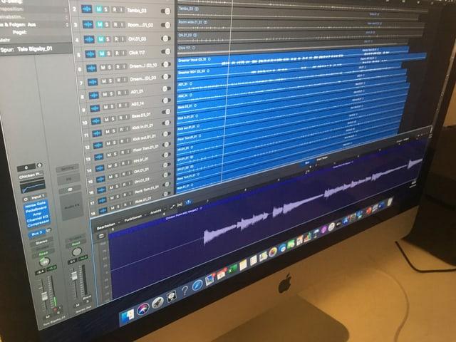 Mischprogramm am MAC.