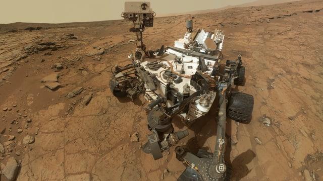 Selbstporträt der «Curiosity» am 10. Februar 2013.