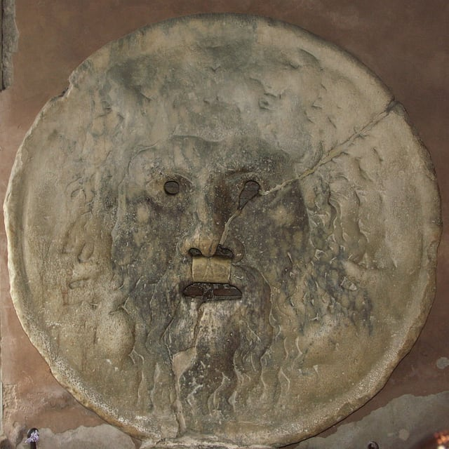 «Der Mund der Wahrheit» in Rom