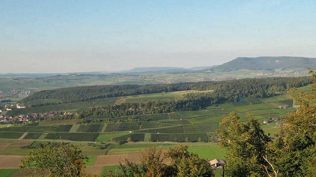 In doppelter Hinsicht eine Besonderheit: der Regionale Naturpark Schaffhausen.