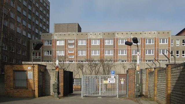 Aussenansicht des ehemaligen Stasi-Gefängnisses in Rostock.