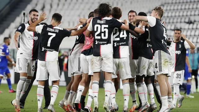 Ils giugaders da Juventus.
