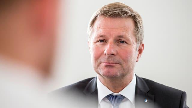 Finanzdirektor Marcel Schwerzmann wird im Kantonsparlament gute Argumente liefern müssen.