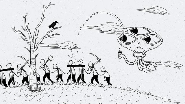 Video «Filosofix: Das Gedankenexperiment «Menschenfleisch»» abspielen
