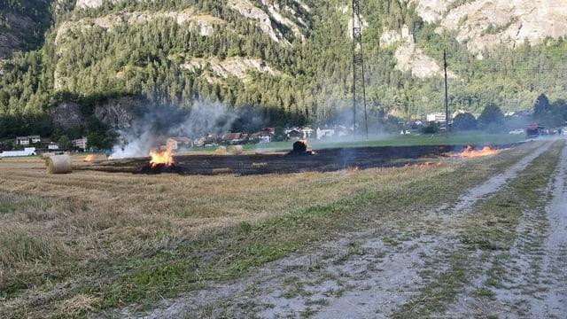 Purtret da l'incendi sin l'èr.
