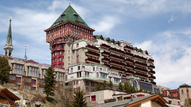 Das Hotel «Badrutt's Palace»