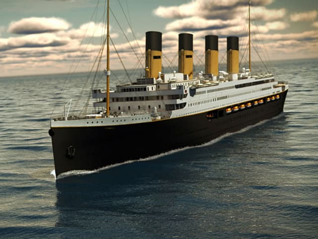 Titanic-Modell