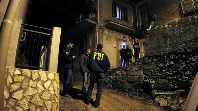 Polizia taliana.