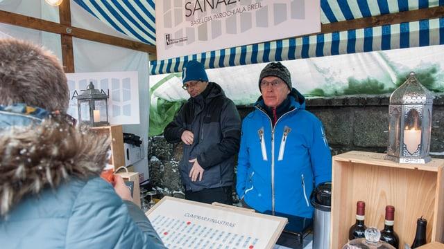 Al «Marcau Silvester» ha la plaiv cumenzà a recaltgar daners per la sanaziun.
