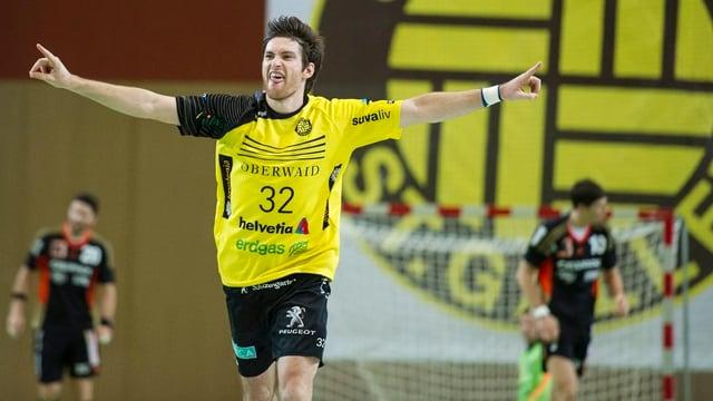 Handballer Vedran Banic von TSV St. Otmar