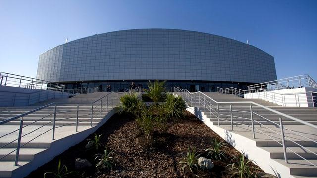 Das Gebäude für die Curling-Partien.