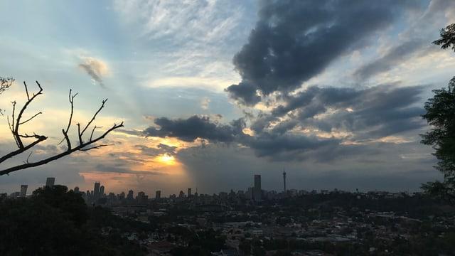 Die Stadt Johannesburg.