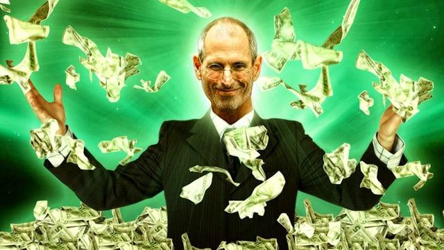 Steve Jobs: Er hat auch ohne Studium die Welt verändert.