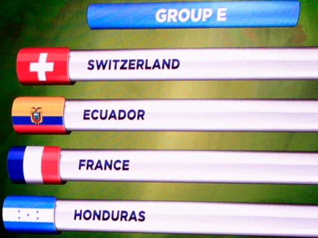 Die WM-Gegner der Schweiz kommen aus Südamerika, Europa und Zentralamerika.
