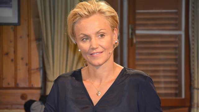 Sonja Nef zu Gast bei Monika Fasnacht im «Samschtig-Jass».