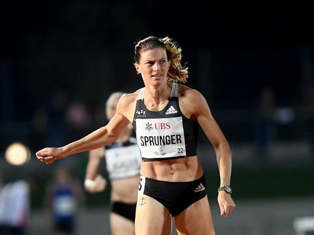 Lea Sprunger.
