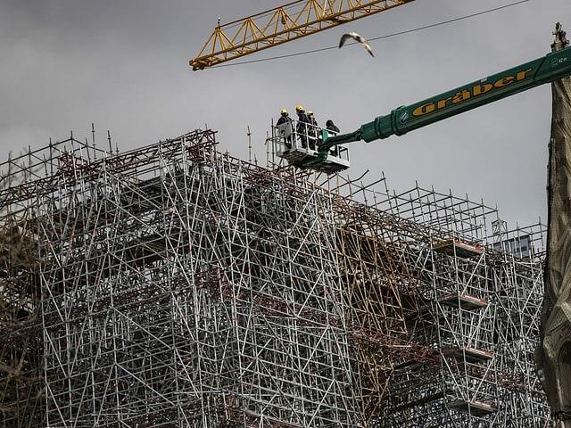 Baustelle Notre Dame.