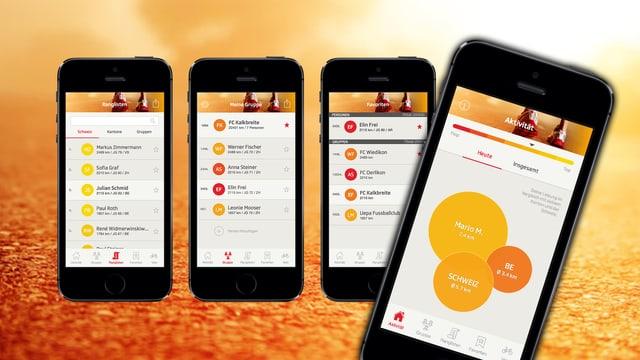 «SRF bewegt»-App