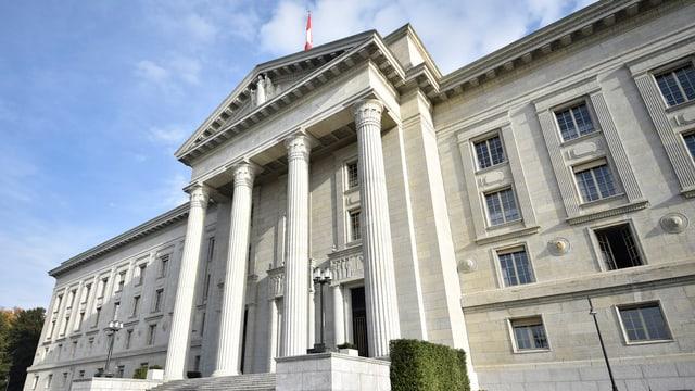 Fassade des Bundesgerichts