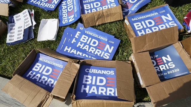 Wahlfleyer Biden Harris.