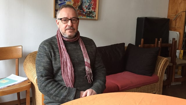 Hannes Reiser, Aktivist für Sans Papiers.
