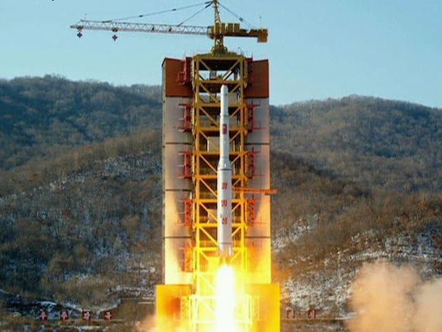 Rakete beim Start