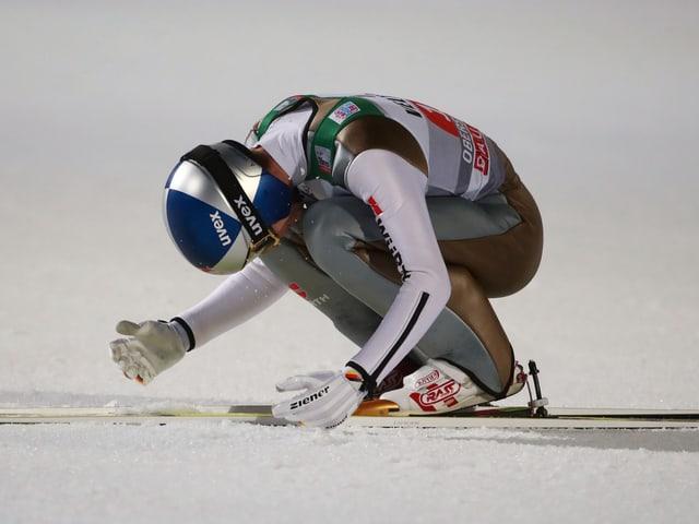 Andreas Wellinger fällt mit einer Knieverletzung aus.