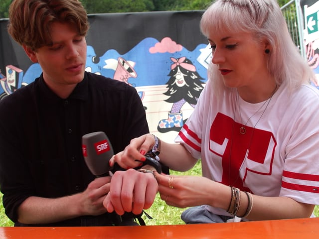 Crimer und Tina Nägeli