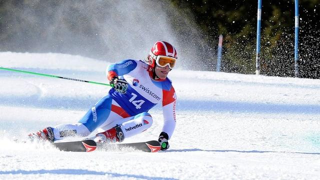 Thomas Tumler gehört zu den dominierenden Fahrern im Europacup.
