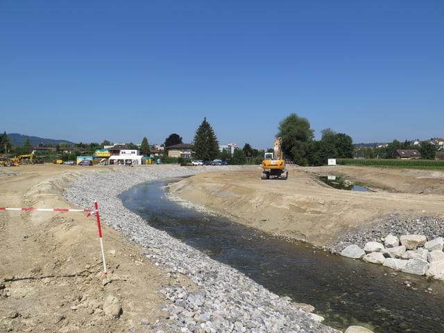 Neuer Kanal der Bünz