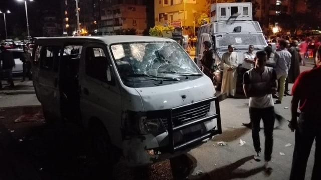 In bus alv da polizists en civil è donnegià entras sajets