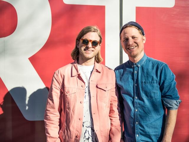 Philipp Morscher e Stefan Buck da la gruppa Hecht a Cuira