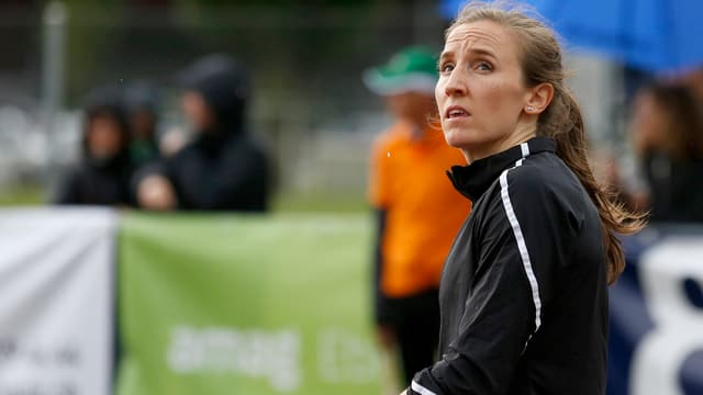 purtret da l'atleta Nicole Büchler