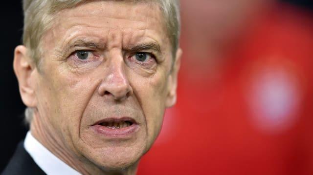 Il coach d'Arsenal Arsène Wenger.