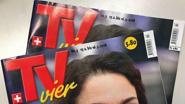 Zwei gleiche TV-Zeitschriften mit unterschiedlichen Preisangaben.